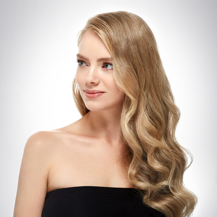 39054903 - beautiful girl with healthy long hair
