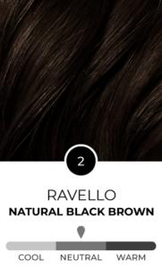 Ravellow 2 Natural black brown