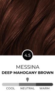 Messina 4.5 Deep Mahogany Brown