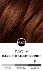 Paola 6.53 Dark Chestnut Blonde