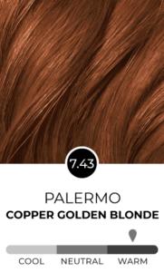 Palermo 7.43 Golden Copper Blonde