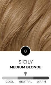 Sicily 8 Medium Blonde