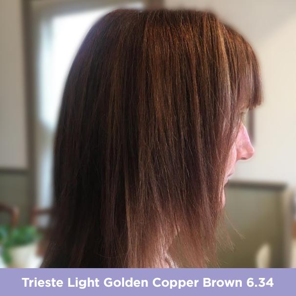 Trieste 6.34 Light Golden Copper Brown