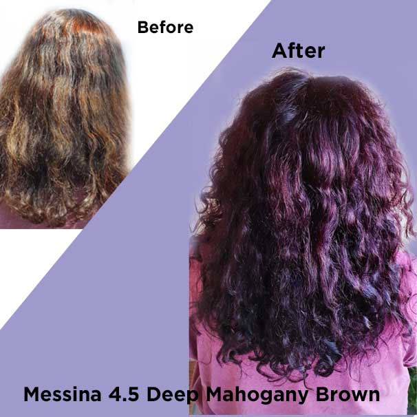 Messina Deep Mahogany Brown