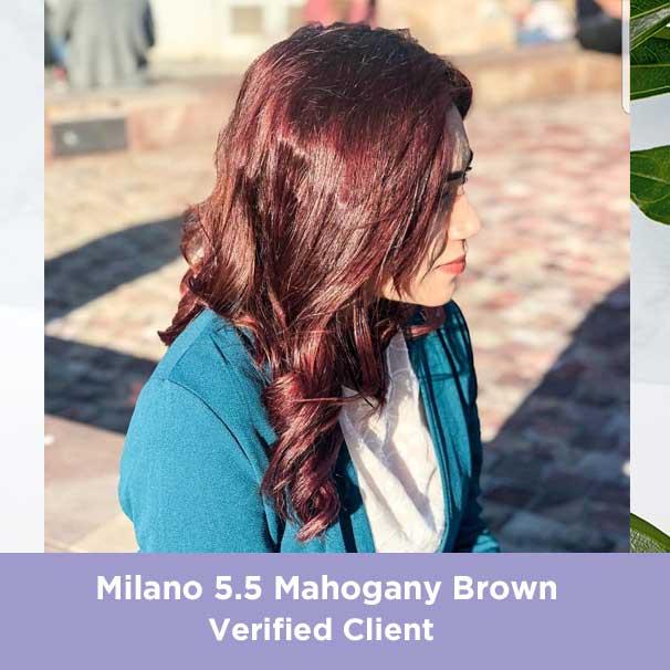 Milano Mahogany Brown