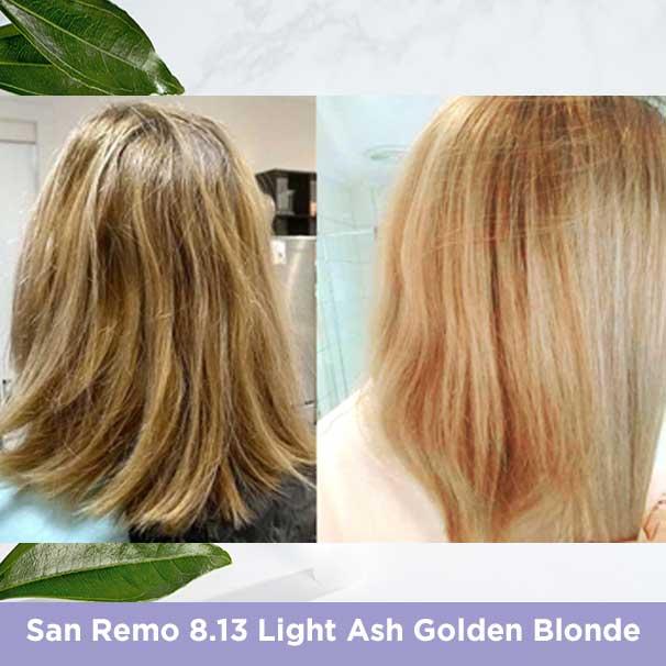 San Remo 8.13 Light Ash Golden Blonde