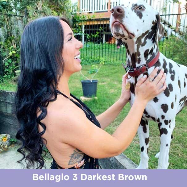 Bellagio Darkest Brown
