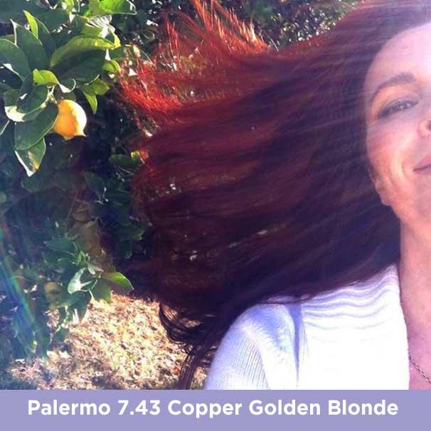 Palermo 7.43 Copper Golden Blonde
