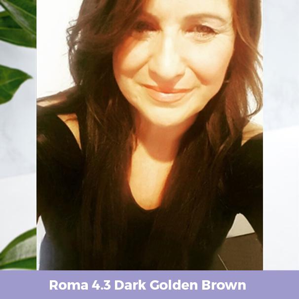 Roma 4.3 Dark Golden Brown
