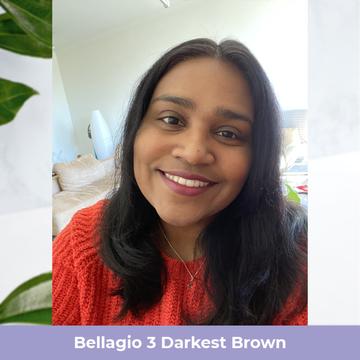 Bellagio 3 Darkest Brown