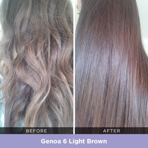Genoa 6 Light Brown