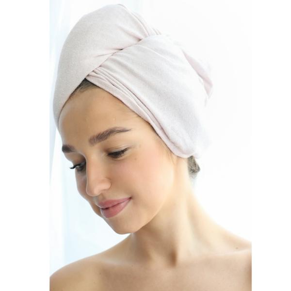 Silk Hair Towel
